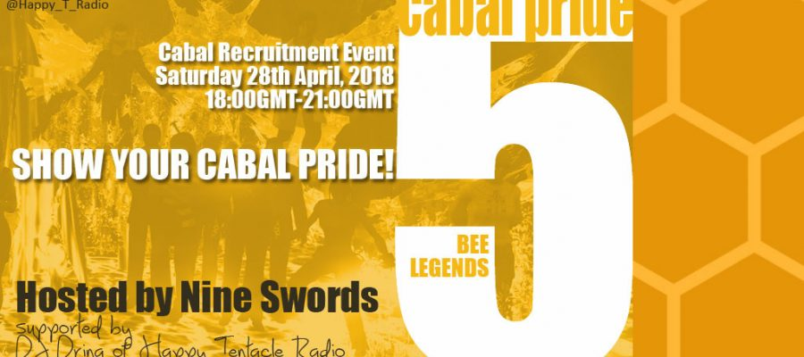 cabal pride 2018 bee legends